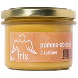 Pomme-Abricot à tartiner 4x130gr (5.20CH/pot)